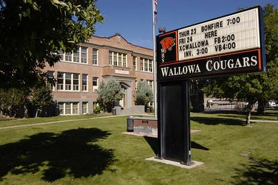 HIGH SCHOOL -- Wallowa, Oregon (Sept 2004)