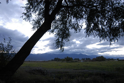 VIEW FROM RV PARK -- Baker City, Oregon (Sept 2004)