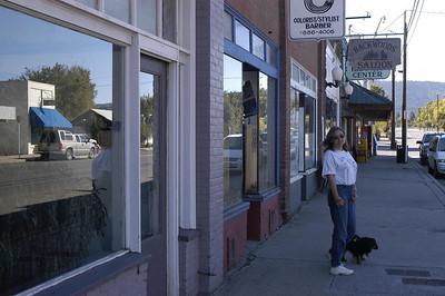ON THE STREET -- Wallowa, Oregon (Sept 2004)