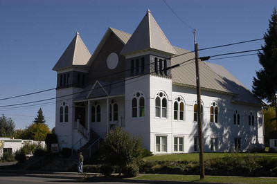 METHODIST CHURCH -- Wallowa, Oregon (Sept 2004)