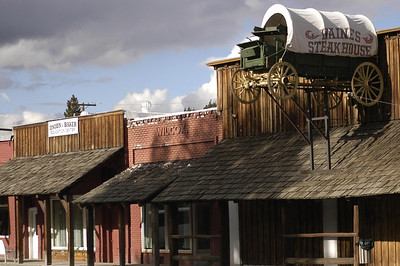 """THE FAMOUS """"HAINES STEAK HOUSE"""" -- Haines, Oregon (Sept 2004)"""