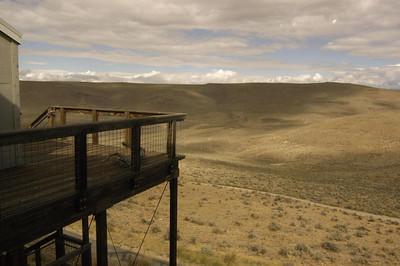 OVERLOOK -- Oregon Trail Interpretive Center, Baker City, Oregon (Sept 2004)