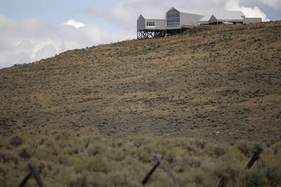 Five Miles East of Baker City -- Oregon Trail Interpretive Center, Baker City, Oregon (Sept 2004)