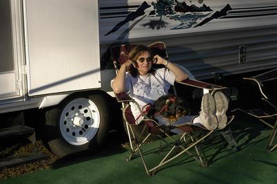 RELAXED -- Wallowa River RV Park, Wallowa, Oregon (Sept 2004)