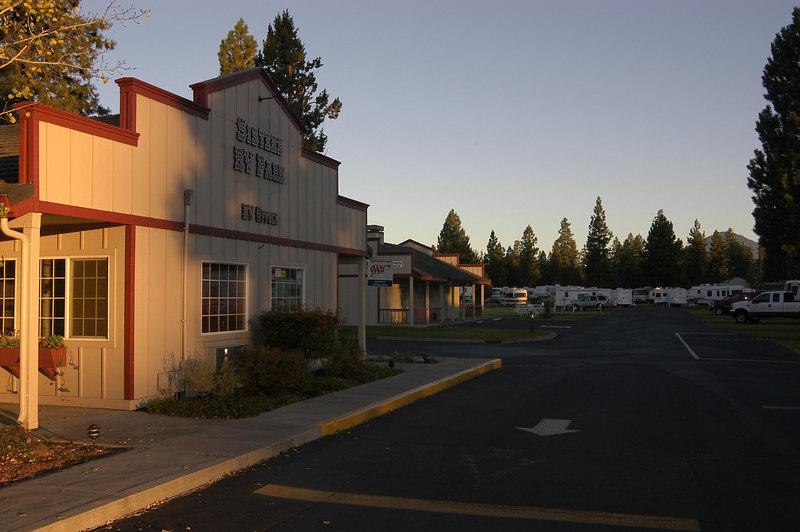 Sisters RV Park: Sisters, Oregon (Sept 2005)
