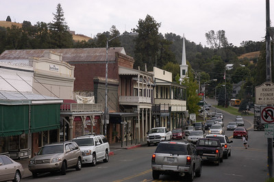 ANGELS CAMP: One of several historic towns along California Highway 49 resulting from the 1849 Gold Rush.
