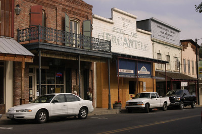 DOWNTOWN: Angels Camp borders Hwy 49, which runs north and south in the foothills of California's Sierra Mountains.