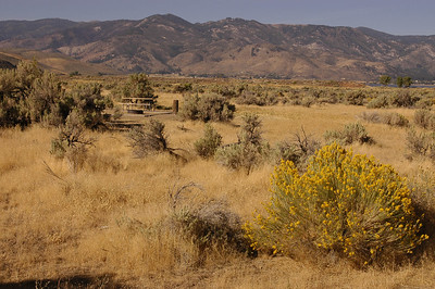 WASHOE LAKE STATE PARK: Overnight stop two miles off Hwy 395, a few miles north of Carson City, Nevada (Sept 2006).