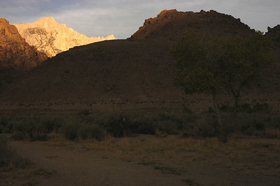 MT WHITNEY: At sunrise (Sept 2006)