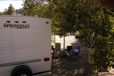 WILLOW SPRINGS RV PARK: Three night stay on Hwy 395, four miles south of Bridgeport, California (Sept 2006).