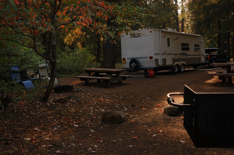 Early Morning At Farewell Bend Campground, Space 35 (Sept 16)