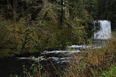 Leaving Upper North Falls