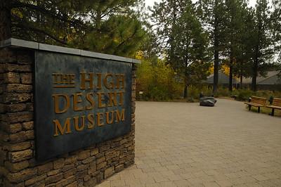 High Desert Museum Landscaping & Entrance