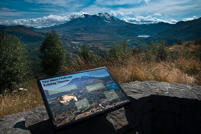 Mount St. Helens from the Castle Lake Viewpoint. (Sept 16, 2011)