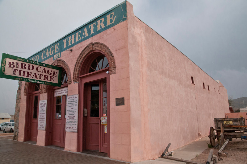 The Historic Bird Cage Theater