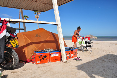 Tin Pallapa beach camping - San Filipe