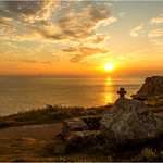 Sunset  -  Sacred Fountain Saint  They  -  Pointe du Van  -px