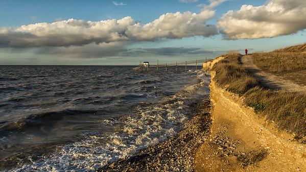 Wind and Tide  - Vent et Marée   - Coastal Trail  -   Sentier Côtier
