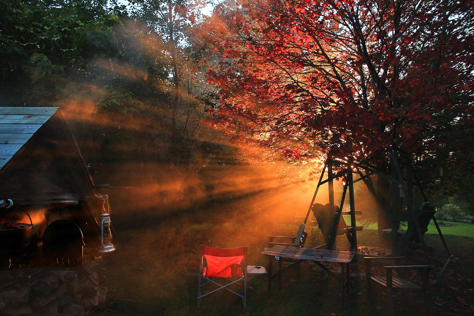 Autumn Sunset  , Rougemont ,Quebec,CANADA