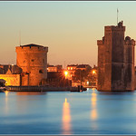 Entrance to the old port of la rochelle  -  France  -  px
