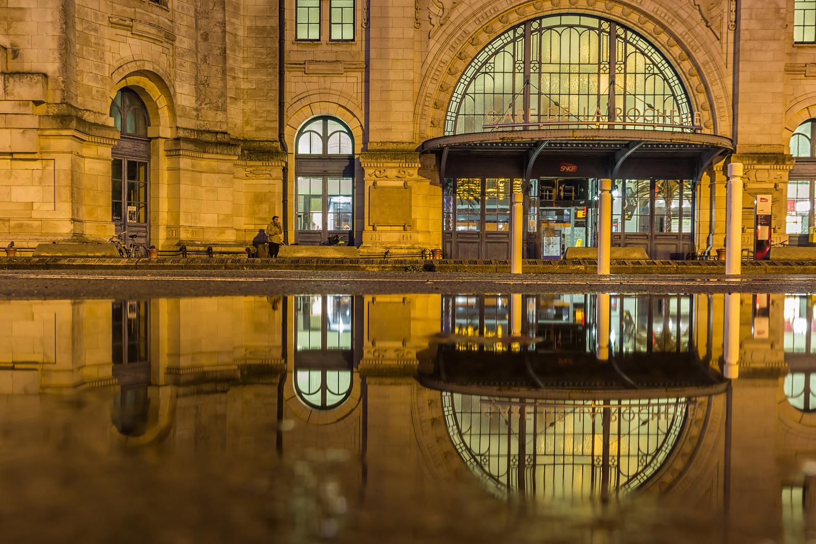 Railway Station  -  La Rochelle
