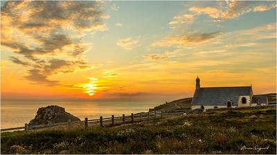 Sunset  -  Chapelle Saint-They  -  Pointe du Van  -  px