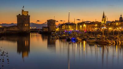 Dusk  -  La Rochelle   - px