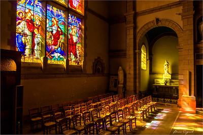 Inside Church  -  Audierne  -  Bretagne