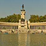 monument d'Alphonse XII - Parc du Retiro