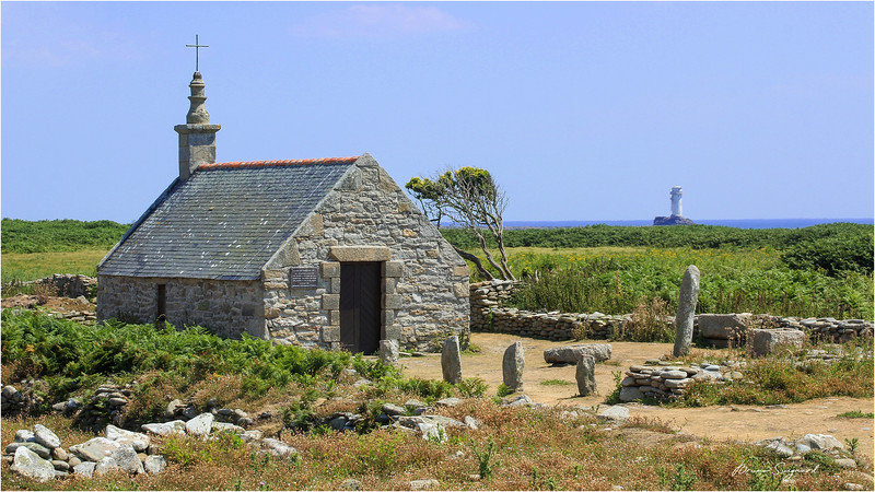 Chapelle St Corentin  -  Ile de Sein  -  Bretagne