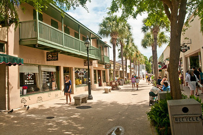 ST George Street, ST Augustine, Florida