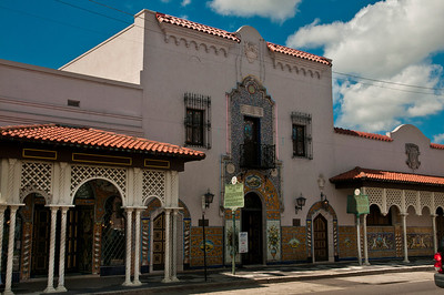 Historic Colombia Restaurant, Ybor City, Florida (May 2013)