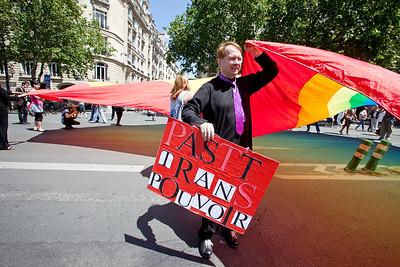 Marche des Fiertes LGBT