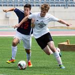 11 au 15 Juillet 2017 - jour 5 - Soccer - match pour le 3e place - CB vs NB - victoire de la CB 8-7 - Kyle Rowe