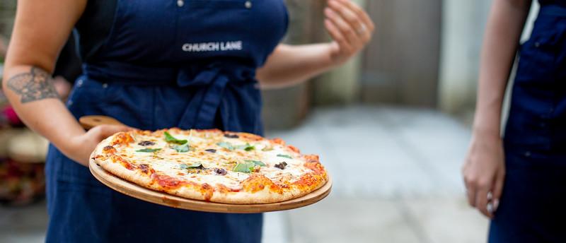 Pizza and Waitress