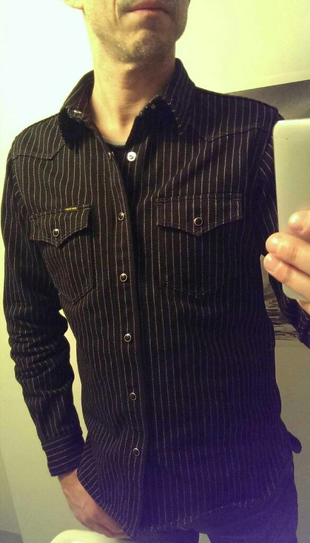 Black wabash Shirts