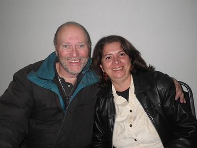 Ivonne and Garry Diamond, Mexico city