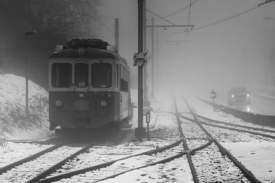 Blonay railway station  -  Swiss