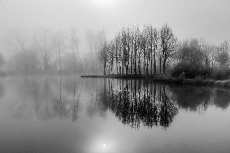 Lac de Frace  -  France  -px