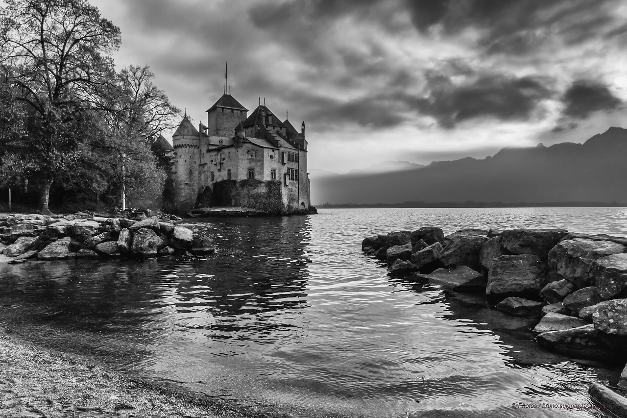 Castle of Chillon,Gènova Lake