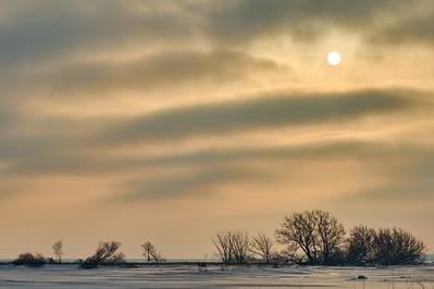 Sunrise Over Long Point