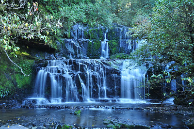 Purakaunui Falls. Proud of this shot - first timer hand held.
