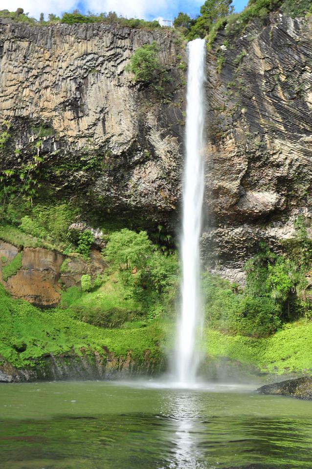 Bridal falls near Raglan
