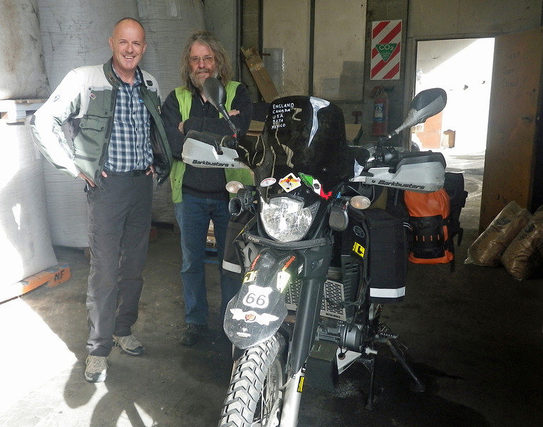 Robbie Stevens - Shipped our bikes from LA. Fantastic guy.