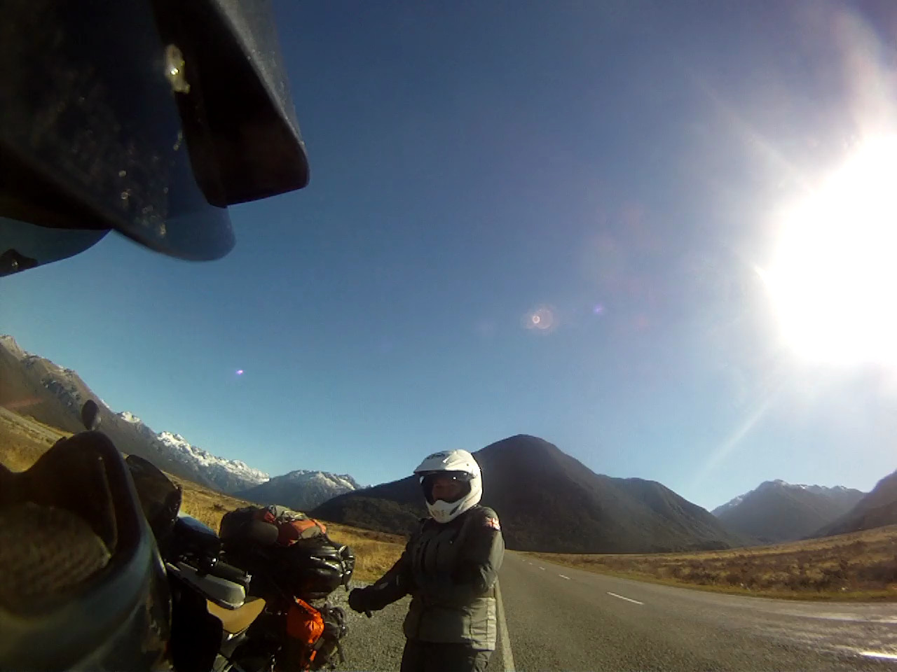 Arthur's Pass South Island NZ = COLD