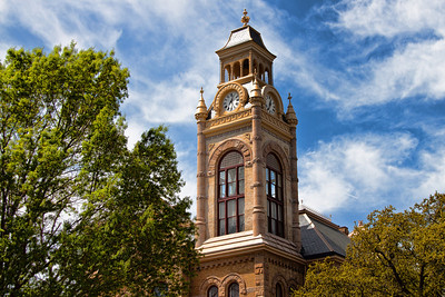 Llano County Courthouse Clocktower