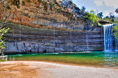 Hamilton Pool - Under the Grotto