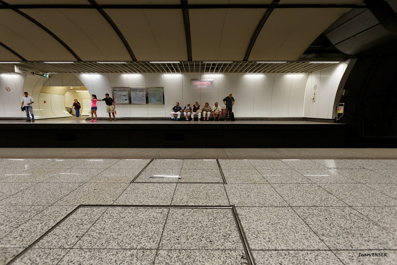 "Station de métro ""Akropoli""  <br /> Athènes<br /> Grèce"