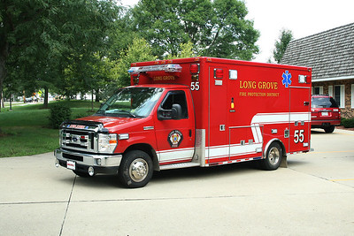 LONG GROVE FPD AMBULANCE 55