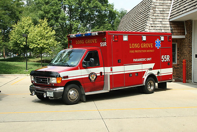 LONG GROVE FPD AMBULANCE 55R